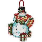 """Набор для вышивания Dimensions """"Снеговик"""""""