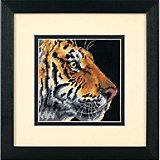 """Набор для вышивания Dimensions """"Профиль тигра"""" 13 x 13 см"""