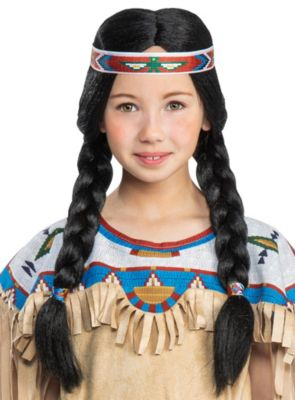 Perücke Nscho-tschi Mädchen Kinder