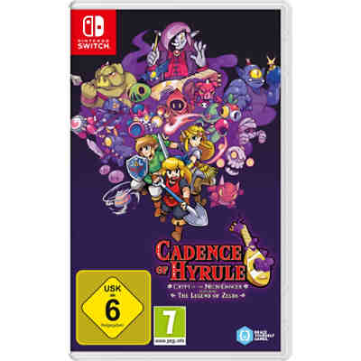 Nintendo Switch: Cadence of Hyrule – Crypt of the NecroDancer Featuring The Legend of Zelda