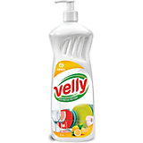 Средство для мытья посуды Grass Velly Лимон, 1000 мл