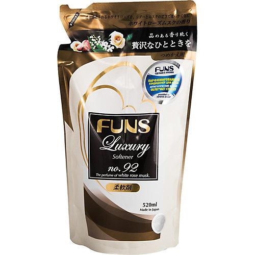 Кондиционер парфюмированный для белья Funs ЗБ с ароматом белой мускусной розы, 520 мл