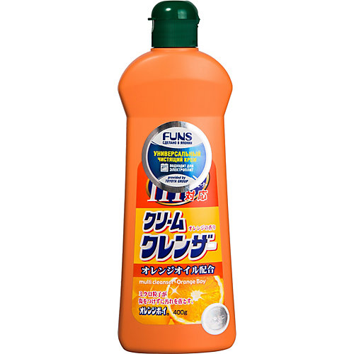 Крем чистящий Funs Orange Boy универсальный с ароматом апельсина, 400 мл