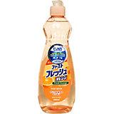 Жидкость Funs для мытья посуды, овощей и фруктов свежий апельсин, 600 мл