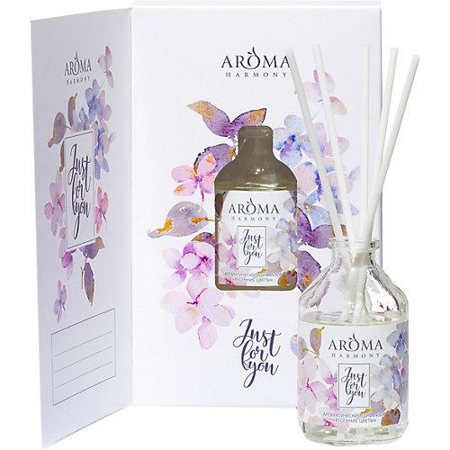 Диффузор Aroma Harmony Весенние цветы, 50 мл - weiß/beige