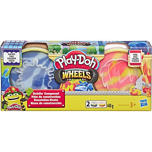 """Игровой набор Play-Doh """"Колёса"""", Огонь и вода от Hasbro"""