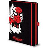 Записная книжка Pyramid Marvel Comics Человек-паук, A5, SR72504