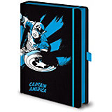 Записная книжка Pyramid Marvel Comics Капитан Америка, A5, SR72506