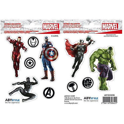 Наклейки ABYstyle: Marvel: Мстители, ABYDCO417
