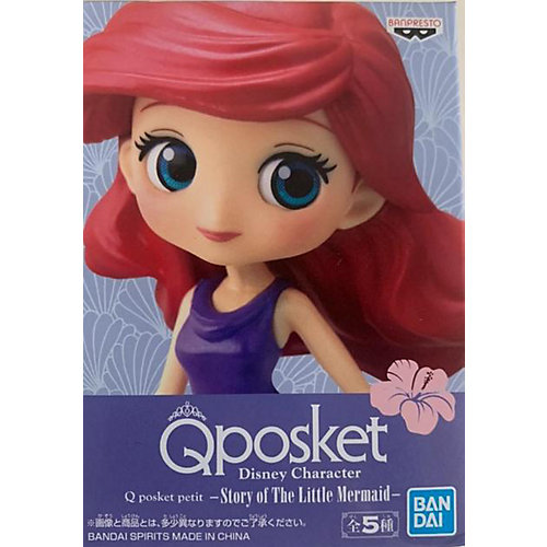 Фигурка Q posket petit Disney Character: Story of The Little Mermaid: Ариэль, BP19951P от BANDAI