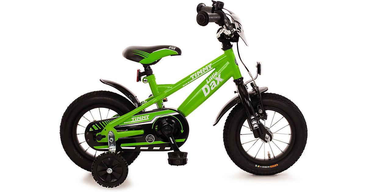 Kinderfahrrad Little-Dax TIMMY, 12,5 Zoll, grün/schwarz