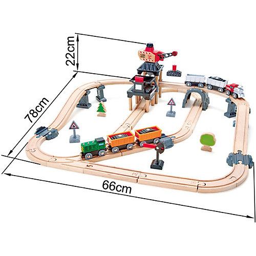 Железная дорога Hape Горный погрузчик от Hape