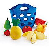 Игровой набор Hape Корзина с фруктами