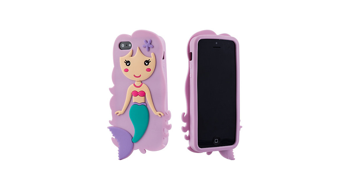 Kinder Handyhülle Meerjungfrau Handyhüllen Mädchen mehrfarbig Gr. iPhone 5 / 5S / SE  Kinder