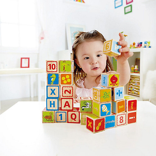 Кубики Hape ABC, 24 шт от Hape
