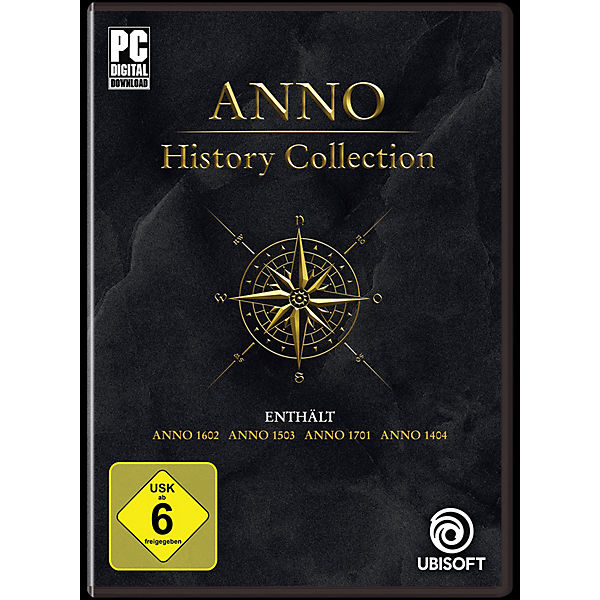 PC Anno History Collection (Code in a box)