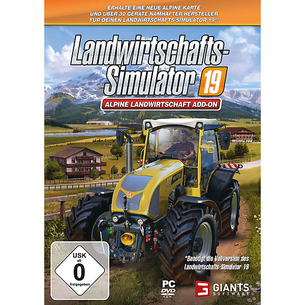 PC Landwirtschafts-Simulator 19: Alpine Add On