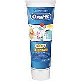 Зубная паста Oral-B Baby Winnie the Pooh, с 0 мес, 75 мл