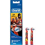 Сменные насадки для электрических щеток Oral-B Stages Power Incredibles, 2шт.