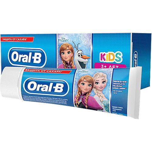 Зубная Паста Oral-B Kids Дисней «Холодное Сердце»/«Тачки» 75мл, От 3 Лет, Мягкий Вкус