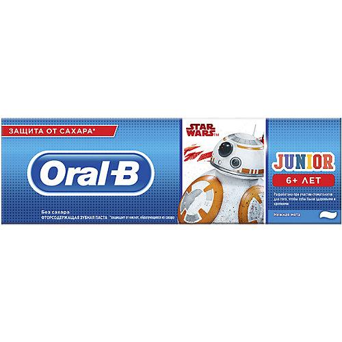 Зубная паста Oral-B Junior StarWars, с 6 лет, 75 мл