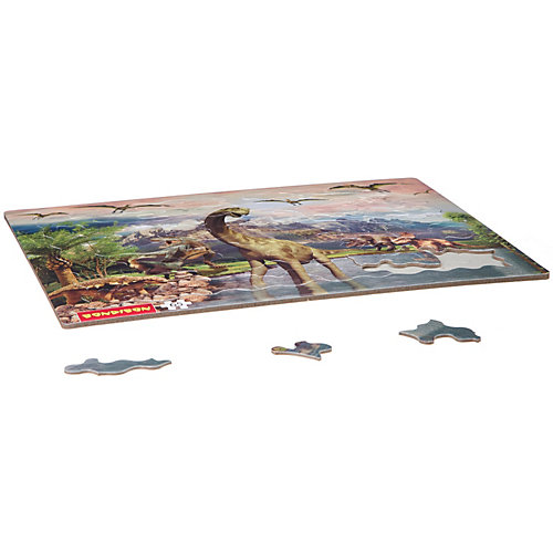 Пазл Bondibon «Эра динозавров», 65 деталей от Bondibon