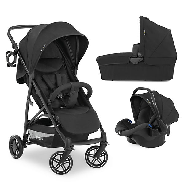 Kombi Kinderwagen Rapid 4R Plus Trioset, Black