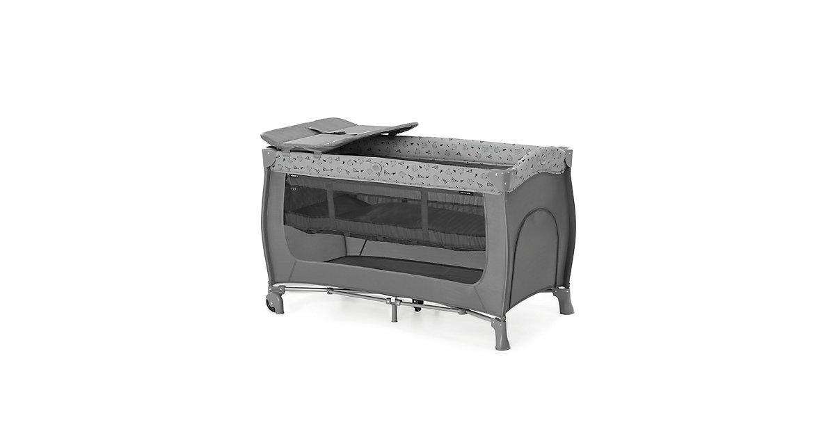 Reisebett Sleep N Play Center, Nordic Grey grau