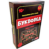 "Настольная игра Play Land ""Буквовед: Мастер"""