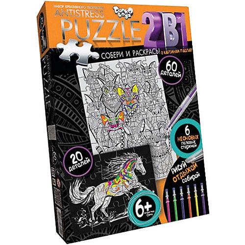 Набор для творчества Danko Toys «Пазл Антистресс» от Danko Toys