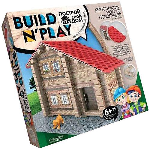 Конструктор Danko Toys Build'n'Play «Домик из изолоновых деталей» от Danko Toys