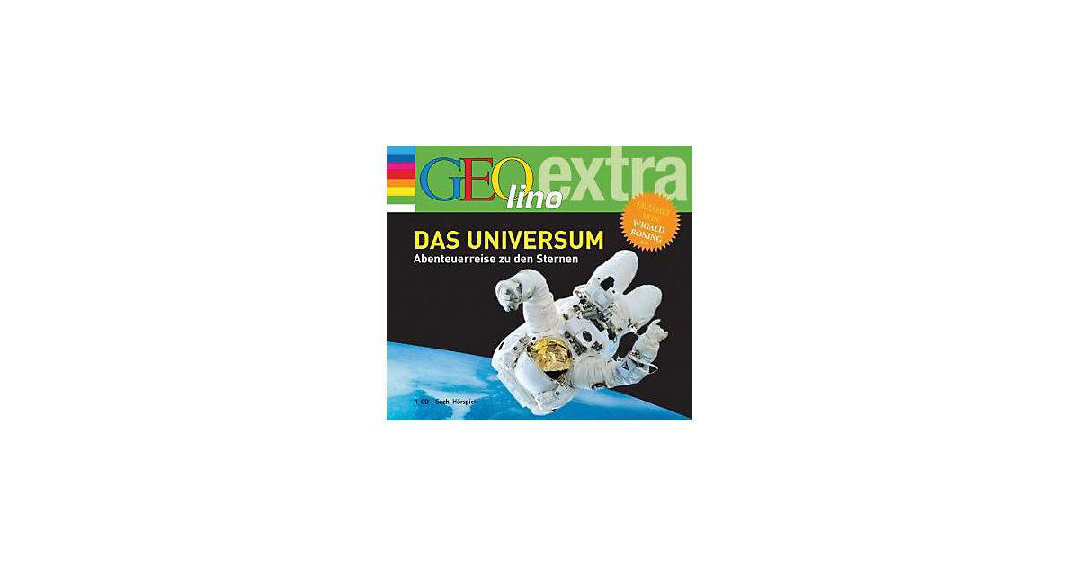 Das Universum: Abenteuerreise zu den Sternen, Audio-CD Hörbuch