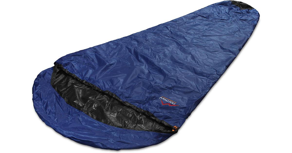 Schlafsack-Regenüberzug SleeBag Schlafsäcke schwarz/blau
