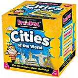 """Настольная игра BrainBox Сундучок знаний """"Города"""" на английском языке """"Cities"""""""
