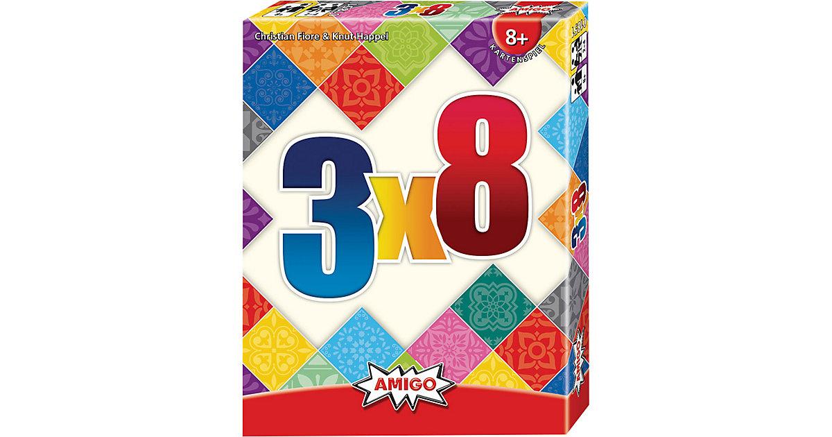 3 x 8 Kartenspiel, 2-4 Spieler