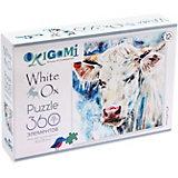 """Пазл Origami """"Портрет белого быка"""", 360 деталей"""
