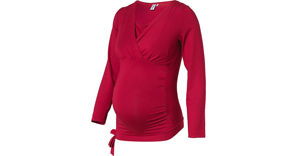 Stilllangarmshirt DAPHNE für Mädchen rot Gr. 42 Damen Kinder