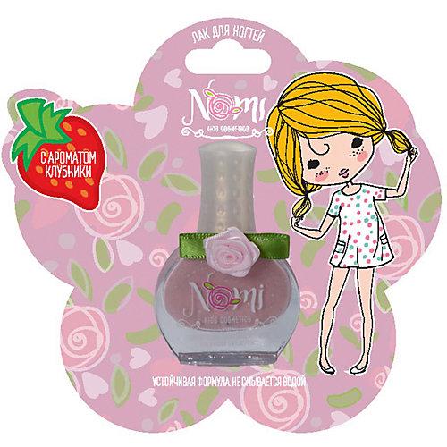 Лак для ногтей Nomi Розовый жемчуг, с блёстками, 7 мл