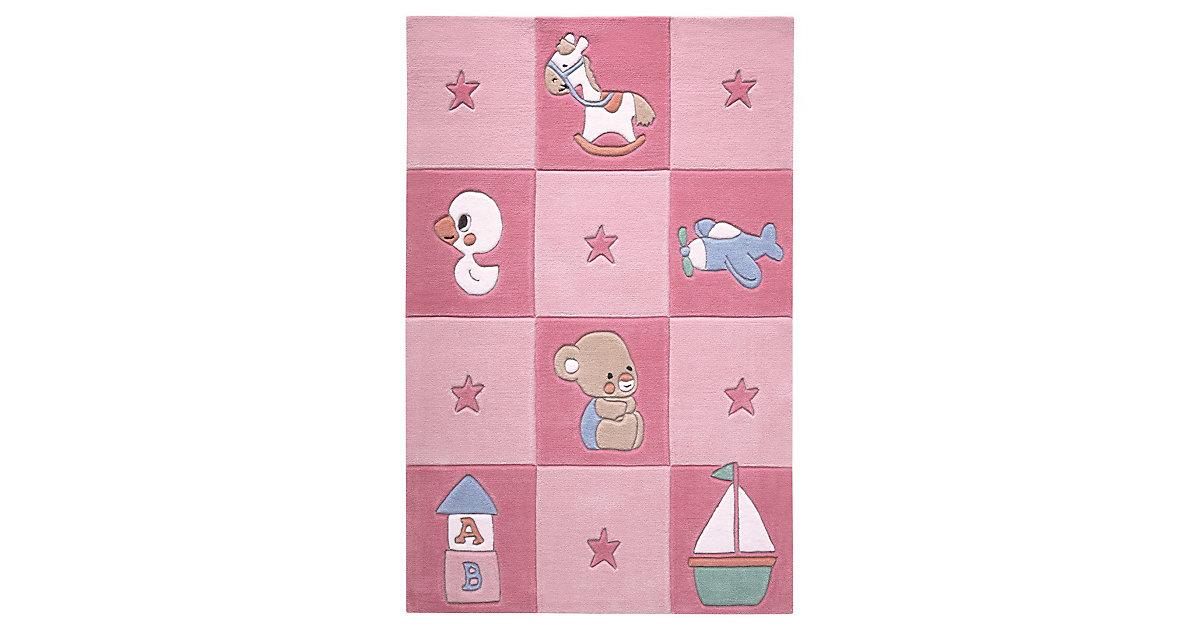 Teppichart Newborn rosa Gr. 110 x 170