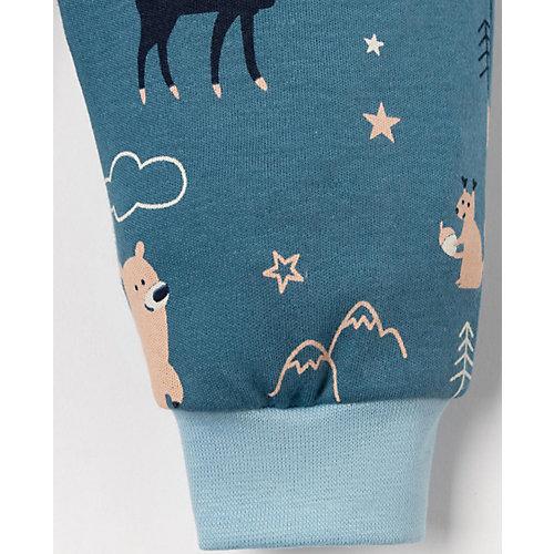 Комплект Крошка Я: боди, брюки и шапочка - синий от Крошка Я
