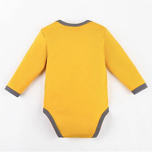 Боди Крошка Я - желтый от Крошка Я