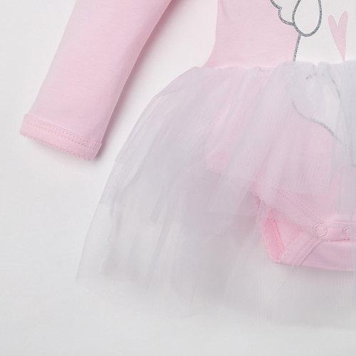 Боди Крошка Я - розовый от Крошка Я