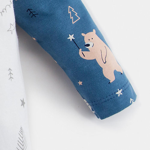Комплект Крошка Я: лонгслив и брюки - синий от Крошка Я