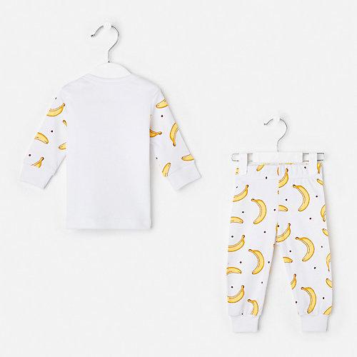 Комплект Крошка Я: лонгслив и брюки - белый от Крошка Я