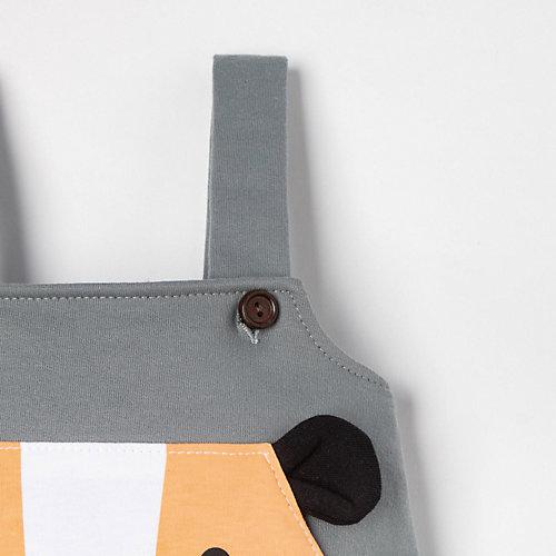 Комплект Крошка Я: боди и полукомбинезон - серый от Крошка Я
