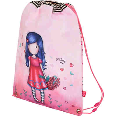 Sportbeutel/Matchsack Gorjuss Sparkle&Bloom love grows