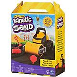 Кинетический песок Spin Master Машина-каток
