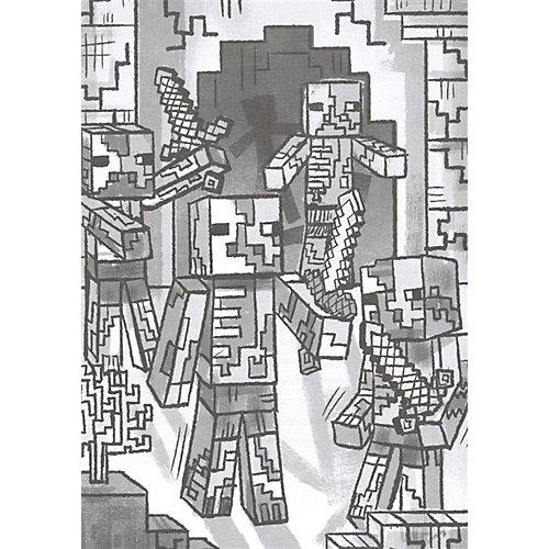 """Официальная книга приключений Minecraft """"Уходим в глубину. Хроники Вудсворта"""" от ИД Лев"""