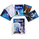 "Пакетик с наклейками Panini Hybrid ""Холодное сердце 2"", 4 наклейки, 1 карточка"