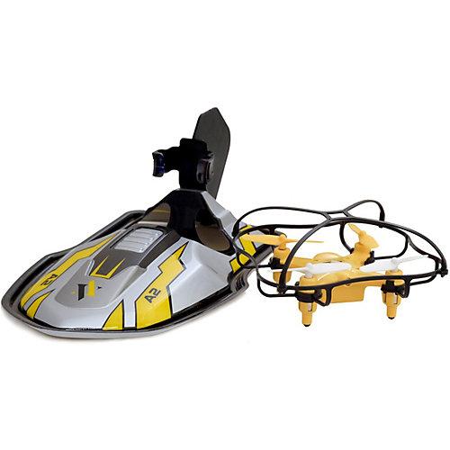 Квадрокоптер 2 в 1 Eztec с дрифт платформой от Eztec